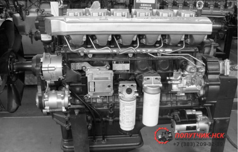 Двигатель WP12 Евро IV